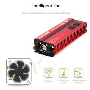 Image 4 - SOLAR Power INVERTER 5000W Sine WAVE อินเวอร์เตอร์ DC AC 12 V/24 V 220V Converter 4 USB พอร์ต Dual จอแสดงผล LED