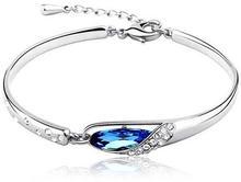 Элегантный женский браслет budtrip с австрийскими кристаллами