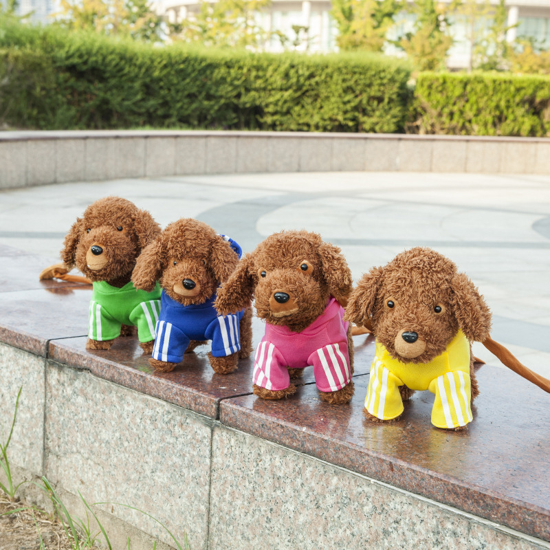 Rope Electronic Teddy Dogs Sing Songs Interactive