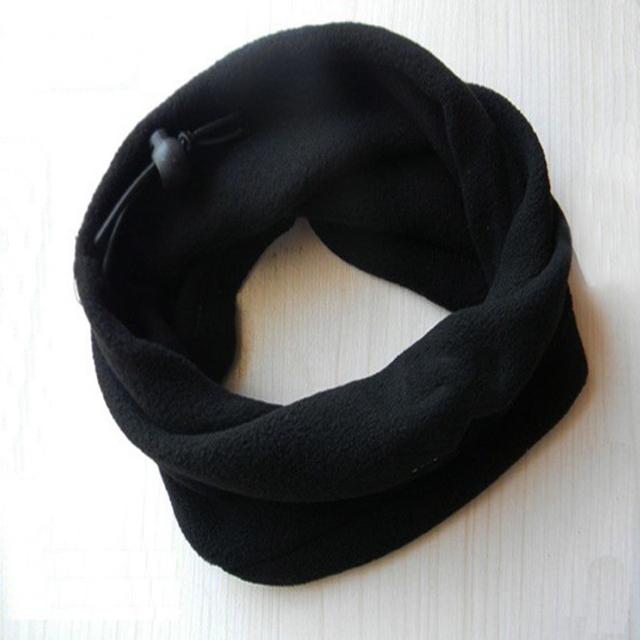 Black Football Neckerchief Soccer Scarf Outdoor Sports Windproof Multifunctional Fleece Warm Hat Football For Training 2018