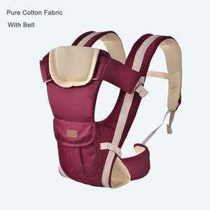 Image 4 - Porte bébé multifonctionnel de 2 à 30 mois, porte bébé, porte bébé, porte bébé, porte sac à dos, pochette enveloppée, haute qualité