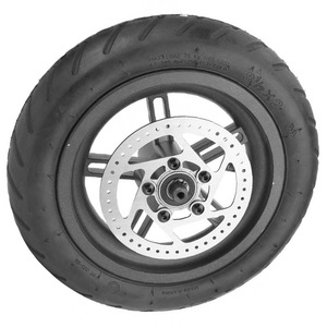 Image 4 - Electric Scooter Tyre with Disc Brake Disc Scooter Pneumatic Tire Rear Wheel Disc Brake Tyre for Xiaomi M365 Electric Scooter
