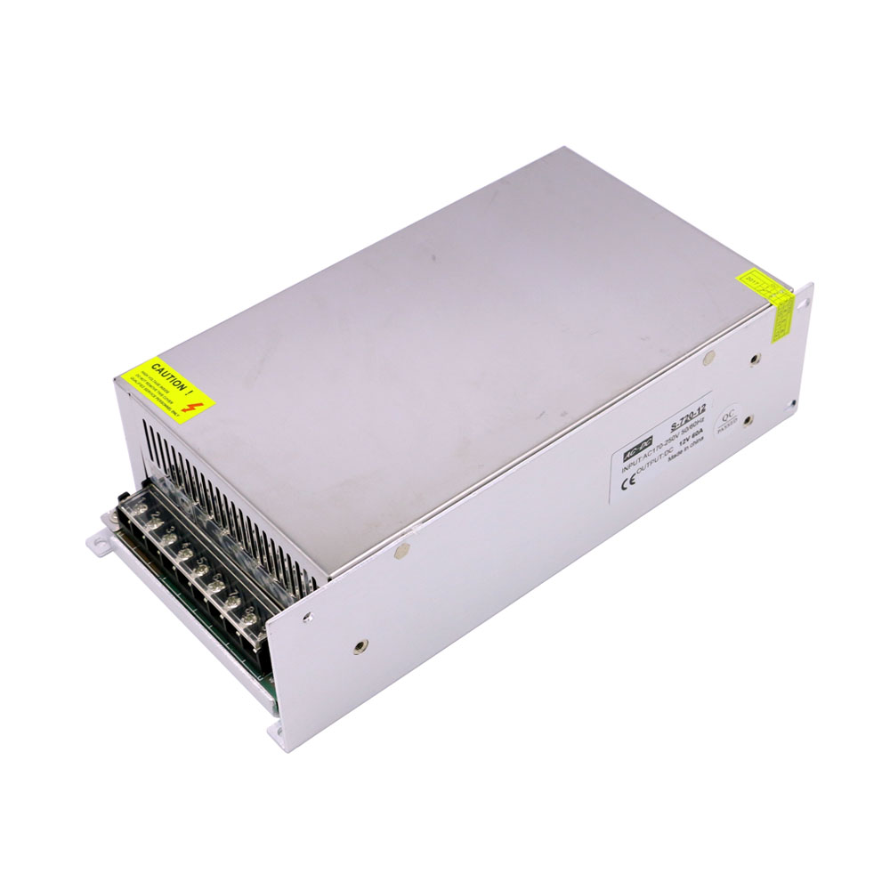 High Power 12V 60A 720W Dc Converter Power Supply for Led Input Ac 220V