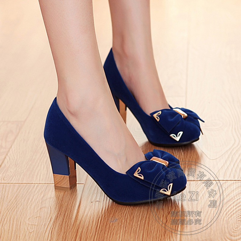 Wear Rhinestone Bling Bow Plateau Young Gril All Match New Sweet Round Toe Shoes With Thick