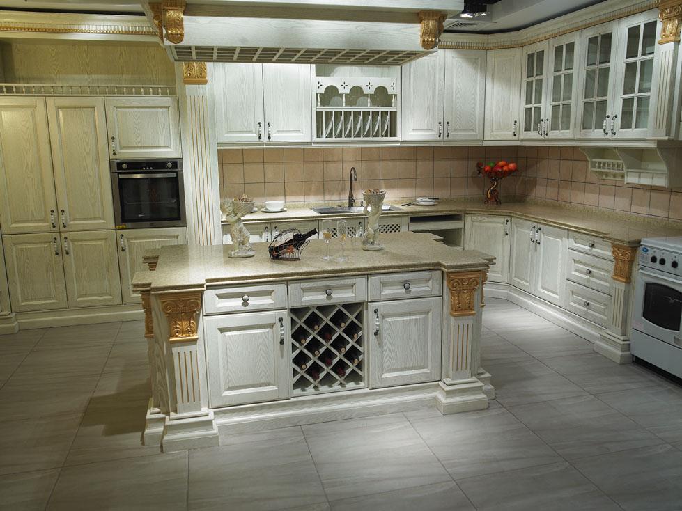 Kitchen cabinet vintage l kitchen cabinets manchurian ash for Ash wood kitchen cabinets