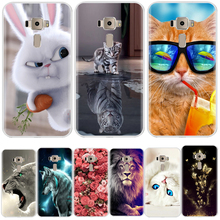 For ASUS Zenfone 3 ZE520KL Phone Case Soft TPU Silicone Cover Protective Printed Case For ASUS ZE520KL Cover аксессуар чехол asus zenfone 3 ze520kl with love moscow silicone lions 3 5932