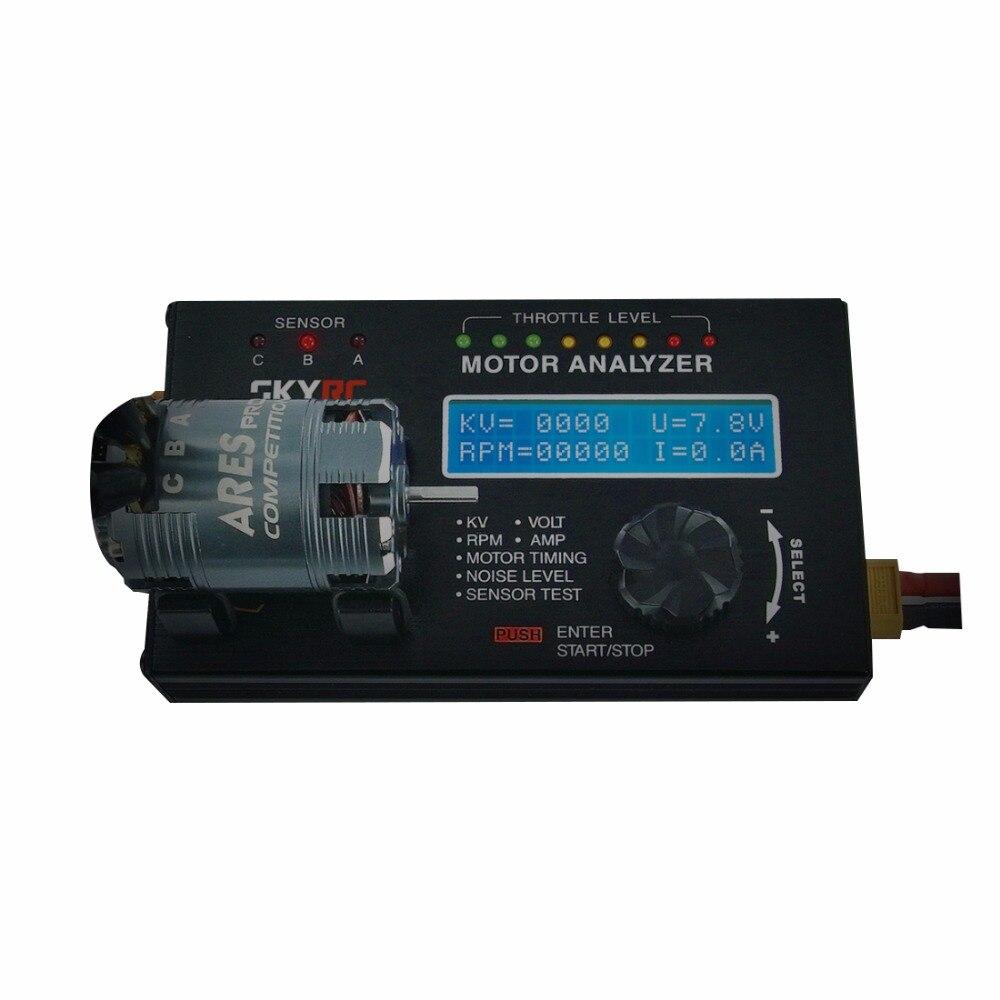 SK-500020 d'appareil de contrôle de moteur d'analyseur d'affichage à cristaux liquides de moteur sans brosse de SKYRC avec l'écran d'affichage à cristaux liquides pour le moteur de voiture de RC