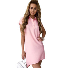 10d5bf810811 Collar Polo Dress Promotion-Shop for Promotional Collar Polo Dress ...