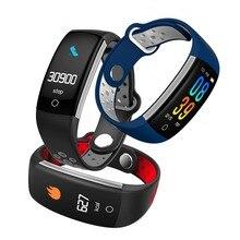 цена на Hembeer Smart band Bracelet Heart Rate Monitor Fitness tracker Blood Pressure Wristband For xiaomi xiomi mi 8 PK fitbits H5 3