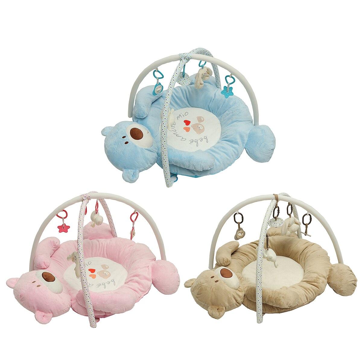 Tapis de jeu bébé tapis développer ramper la musique des enfants tapis sûr bande dessinée doux pour les enfants jouet éducatif 95x85x60 cm tapis