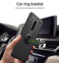 OnePlus 7 Pro Stand Case 360 Degree Ring Finger Holder Car Magnet Phone Case For OnePlus 7 Back Case Fundas Capa