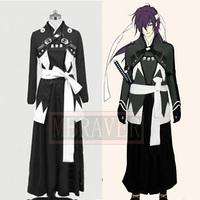 Free Shipping Cos Anime Hakuouki Saitou Hajime Cosplay Costume Custom Made