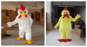 Chicken Mascot Costume Suits Cosplay Party Game Dress Outfits Clothing Advertising Carnival Halloween Xmas Easter Festival Adult