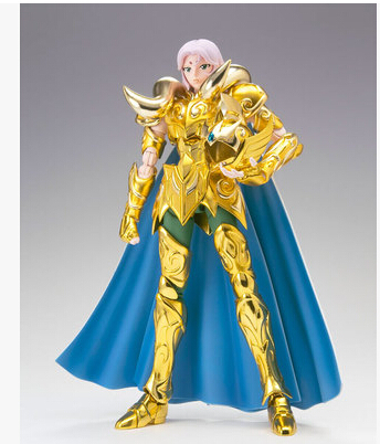 Toyzone model / Cloth Myth EX / Saint Seiya / Gold Saint / Aries Shion mu/ two colors to choose /metal parts / free shipping in stock s temple metal club ex taurus aldebaran saint seiya myth cloth gold action figure