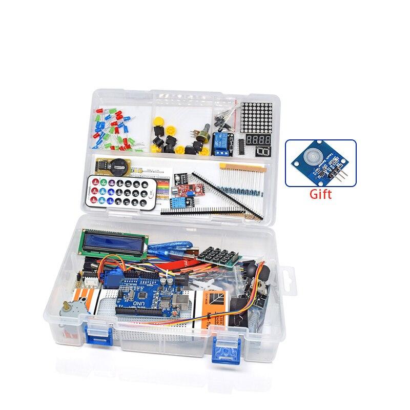 Weikedz Новые RFID Starter Kit для Arduino UNO R3 обновленная версия Learning Suite с коробку, высокое качество