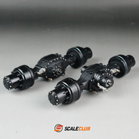 Scaleclub Think card 1/14 mud head tow new wheel minus lock difference power rear axle new product