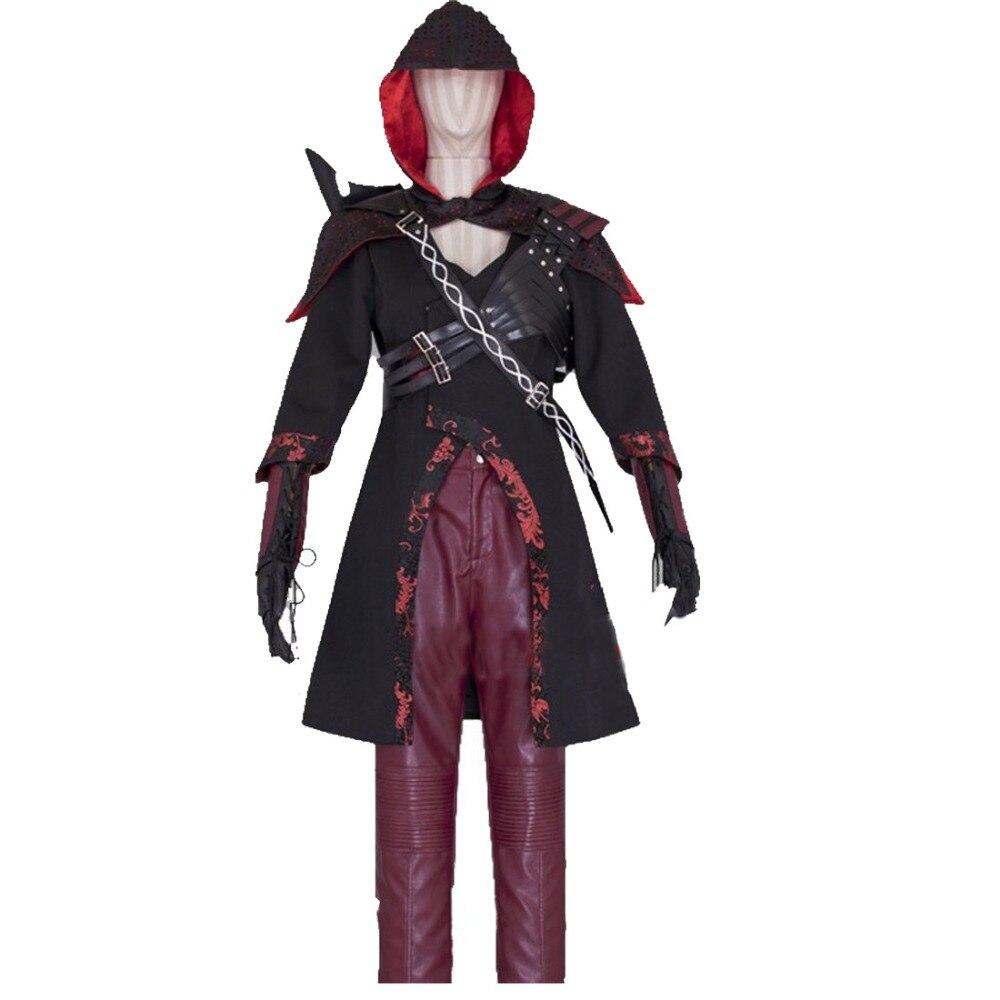 2016 Superhero Green Arrow Cosplay Costume for adult women leather Nyssa al Ghul arrow cosplay costume