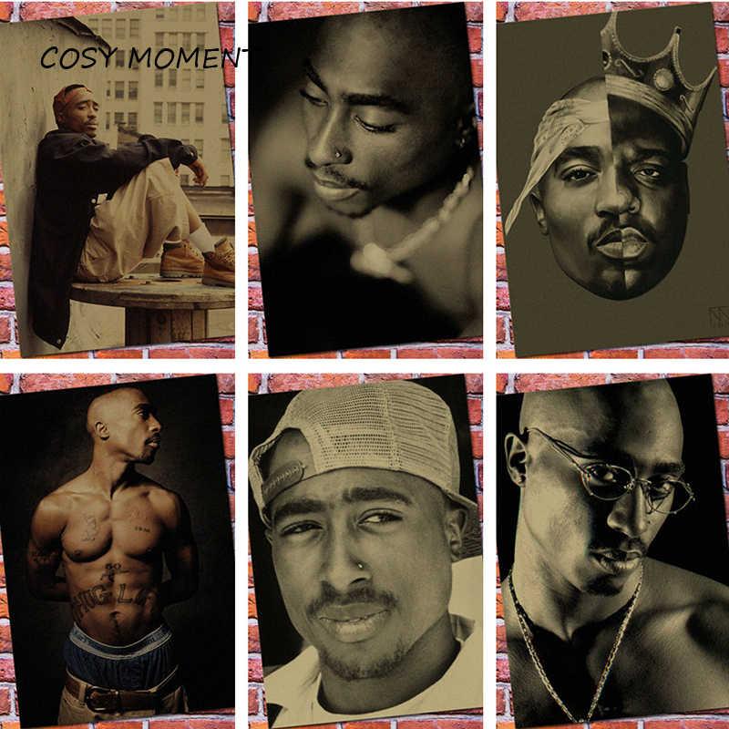 Momento Acolhedor 2pac Rap Deus Tupac Hiphop Cantor Retro Cartaz