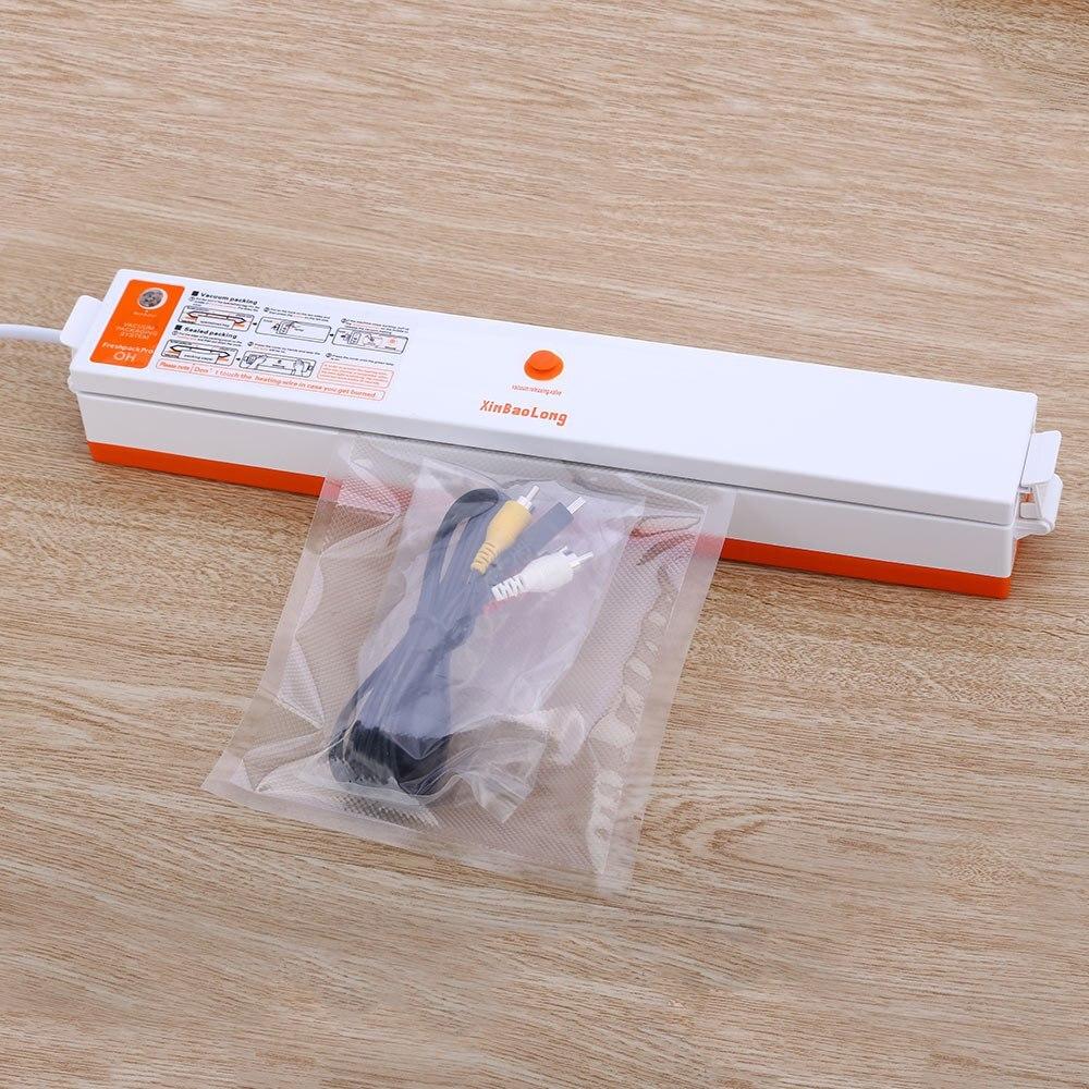 Домашняя кухонная вакуумная машина маленькая автоматическая вакуумная машинка запайки портативная герметичная вакуумная упаковочная маш