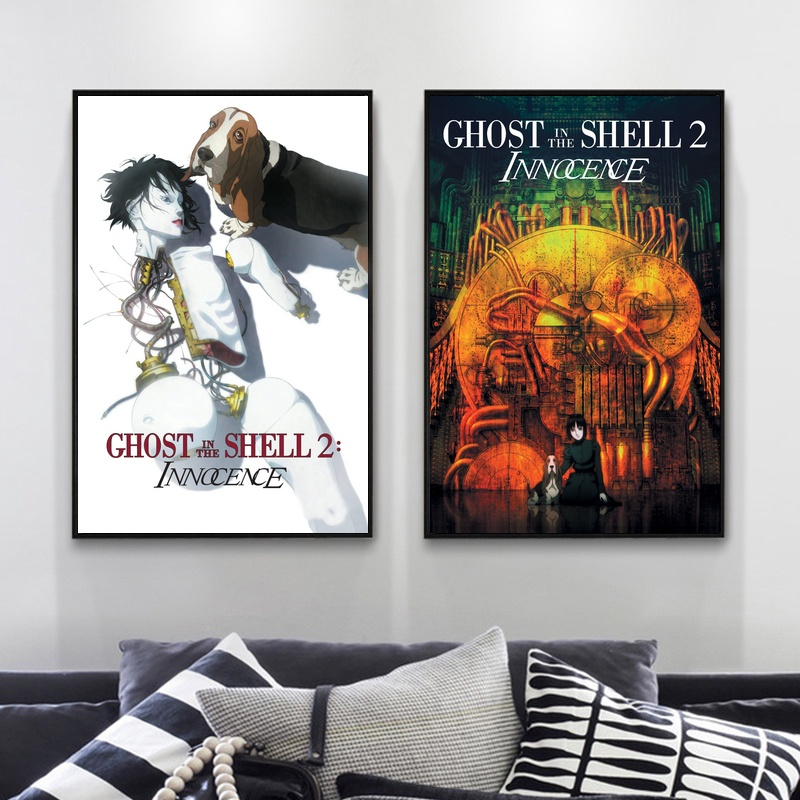 GHOST IN THE SHELL 2 INNOCENCE 2004 Classic Anime Movie Poster Adornment Poster Wall Art Decor Pictures image