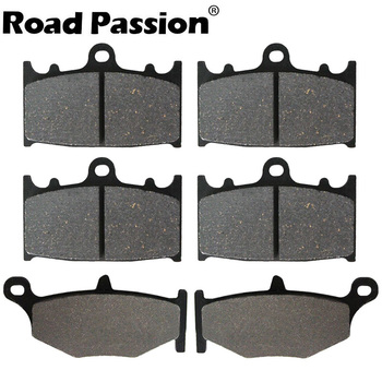 Motorcycle Front & Rear Brake Pads For SUZUKI GSR600K6/K7/K8 GSR400K6 GSR 600 K6 K7 K8 GSR600 400 GSR400 400K6 600K6 600K7 for suzuki gsf1200 96 00 motorcycle front and rear brake pads set