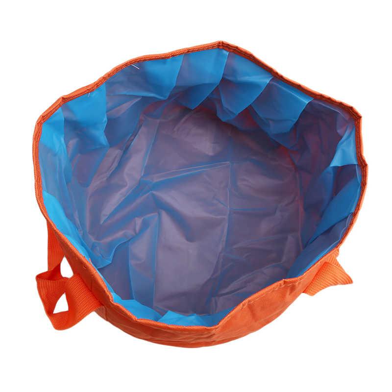 Портативный Открытый Путешествия складной кемпинг умывальник ведро чаша раковина мойка мешок ведро воды домашний инструмент