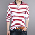 2016 New fashion summer style Polo shirt high quality brand men casual short sleeve striped cotton polo shirt camisa polos