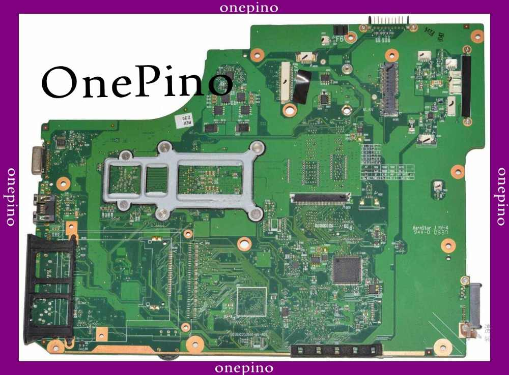 Apto para toshiba L505 L505D V000185540 laptop motherboard Testado trabalho