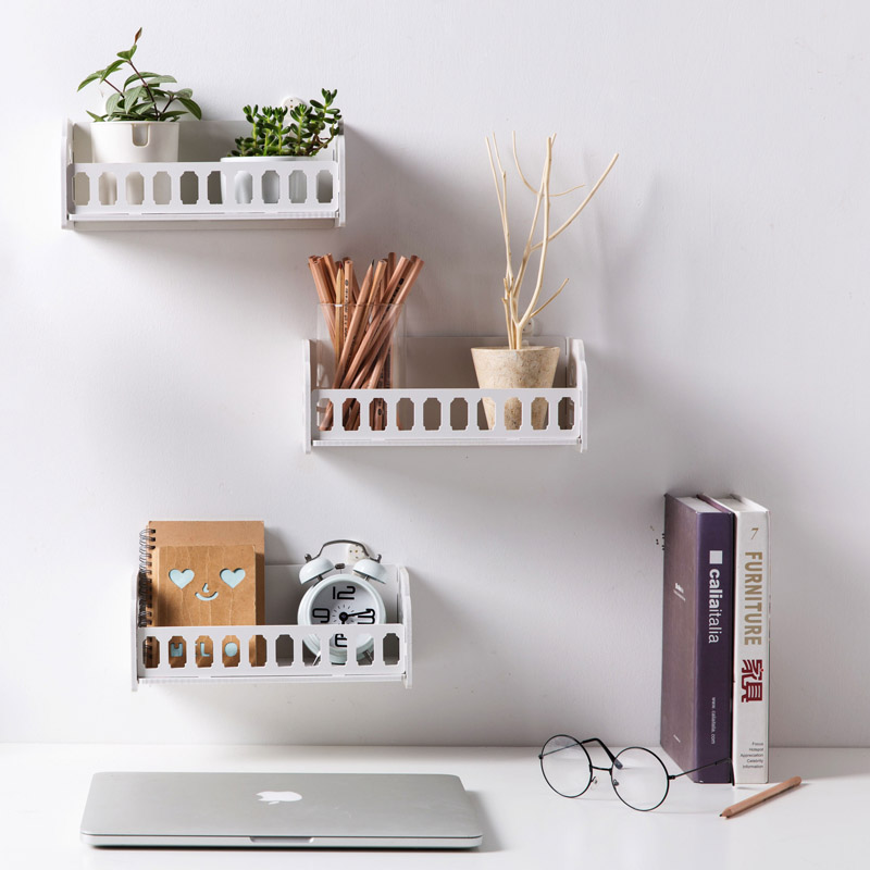 Living Room Wall Shelf Bathroom Cosmetic Pendant Dormitory Bedside Hanging Storage Box In Holders Racks From Home Garden On Aliexpress