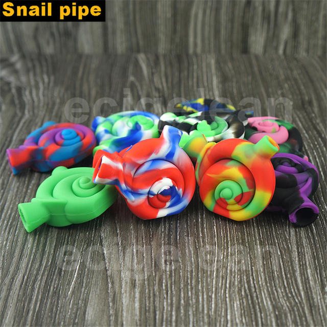 Post 5pcs*Novelty snail Mini Silicone Filter pipe for Smoking Water Pipe Food Grade Silicone & Post 5pcs*Novelty snail Mini Silicone Filter pipe for Smoking Water ...