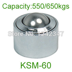 Ahcell 60mm chrome bearing steel ball KSM-60 650kg floor caster heavy duty conveyor roller wheel universal ball transfer unit sp 60 2 3 8 ball bearing 800kg ahcell euro heavy duty ball transfer unit sp60 airport cargo delivery transfer roller conveyor