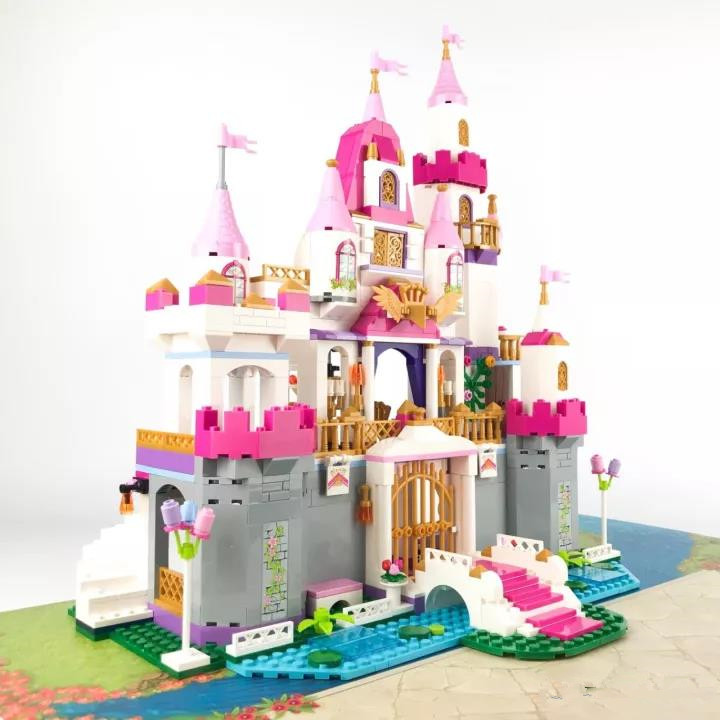 City Girls Angel Castle Celebration Building Blocks Sets Bricks Model Kids Gift Children Toy Compatible Lepins Friends DIY Model 2017 hot sale girls city dream house building brick blocks sets gift toys for children compatible with lepine friends