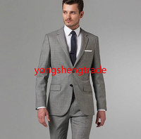 Customize Men Business Suit Gray Business Suit Perfect Everyday Suit Wearable For Any Business Occasion Wool Suit MS0367