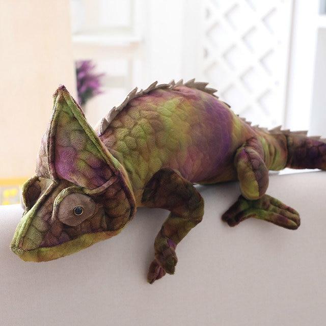2018 MAR New Chameleon Plush Toy Simulation Lizard Pillow Cushion Wholesale Christmas Promotion