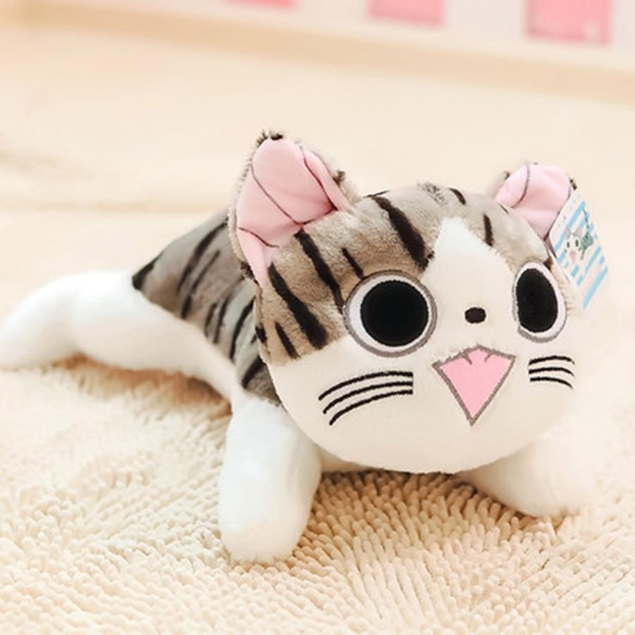 Cute Animal Soft Stuffed Plush Toys Chi Cat Plush Toys Stuffed Soft Animal Dolls Peluches De Animales Birthday Presents 70C0096