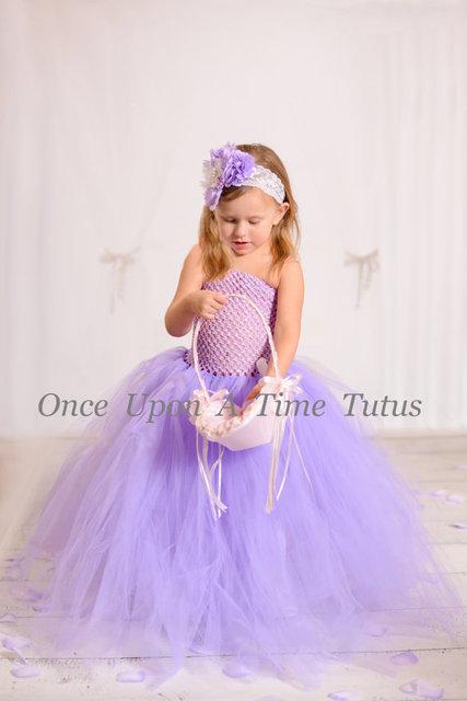 74df12efd USA birthday evening prom cloth long party dresspurple tutu tulle ...