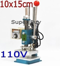 machine 110 10x15 cuir