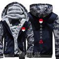 Neue Naruto Hoodie Anime Ootutuki Hagoromo Uzumaki Naruto Mantel Jacke Winter Männer Dicke Zipper Sweatshirt-in Hoodies & Sweatshirts aus Herrenbekleidung bei