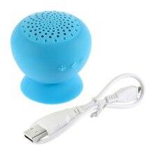 Wireless Mini Bluetooth Speaker Portable Mushroom  Waterproof Shower Handsfree Speakers For Android  PC Computer цена и фото