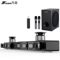 JY Audio A9 Wireless Soundbar Bluetooth Speakers 3D Stereo Woofer Home Theater 5.1 Surround Sound Bar System for TV Coaxial AUX