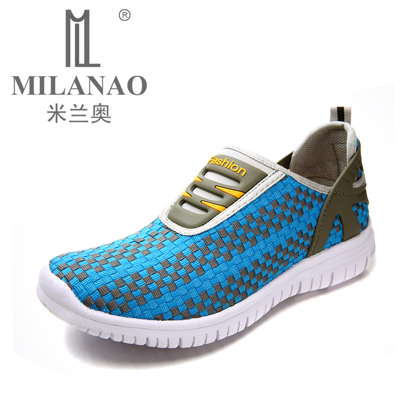 MILANAO 2016 Outdoor Walking Shoes Breathable Mesh Men Running Shoes Super Light Women Sport Sneakers Unisex Athletic Shoes  summer running shoes mesh men walking camping shoes outdoor sport breathable running shoes