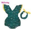 Pavão baby dress meninas puff luva macacão de algodão macacão infantil bonito do bebê romper do bebê recém-nascido roupas definir 0-2yrs frete grátis a