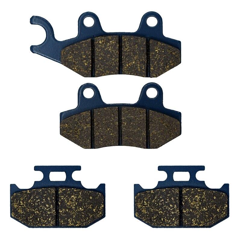 For YAMAHA TT 250 R 4RR1/2 Japan 1995-1997 TT250 RL RM 4PX5 4PX6 1999-2000 YZ250 A WEA B 90-91 Motorcycle Brake Pads Front Rear