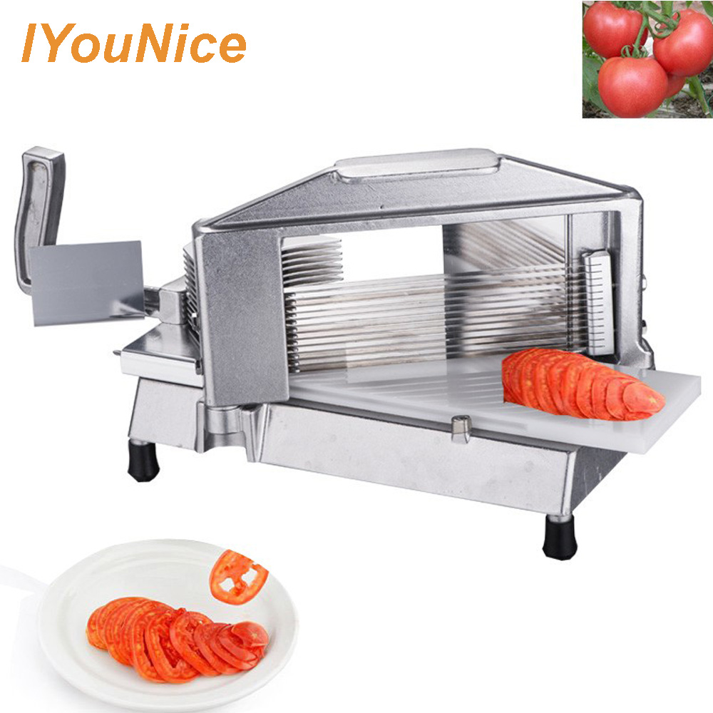 Kitchen Tools Manual Tomato Slicer Tomato Slicing Cutter Machine Onion Slicing Cutter suitable for fruit and vegetable Lemon Cut