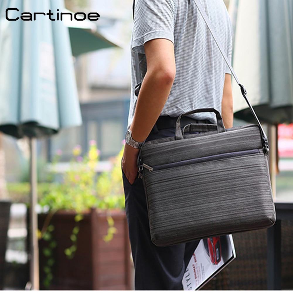 Водонепроницаемый ноутбук сумка 15.6 14 13 12 дюймов ноутбук сумка Для женщин мужские деловые сумки компьютер рукав сумка портфель