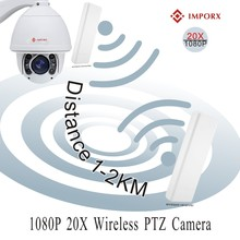 IMPORX 2.0MP 20X 30X Zoom Wireless Auto Tracking PTZ Speed Dome IP Camera WIFI Security Camera IR 150M Support Audio and SD Card