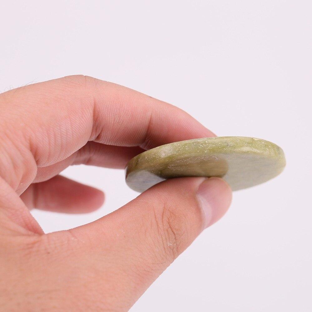 preco de atacado 50 pecas lote recipiente bandeja de cilios ferramentas de maquiagem natural rodada jade