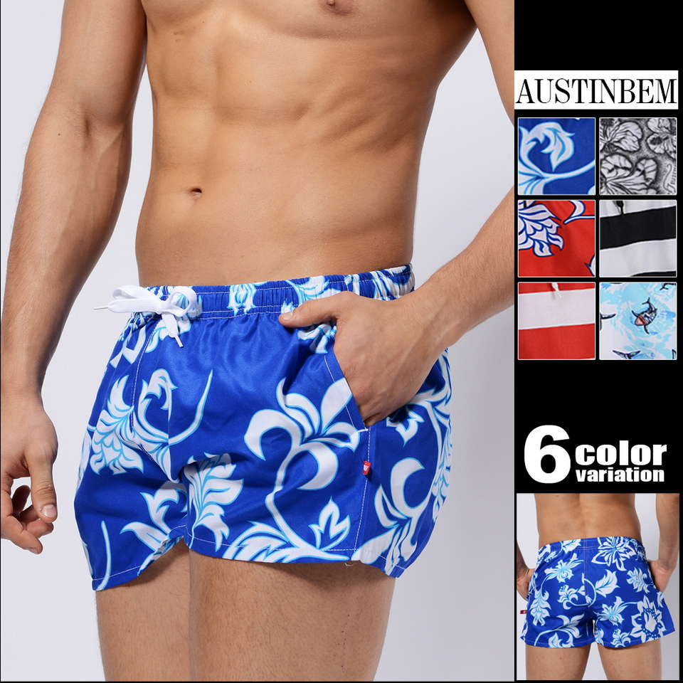 Wholesale new men's board shorts beach shorts surfing bermudas masculina de marca men boardshorts surf 30401