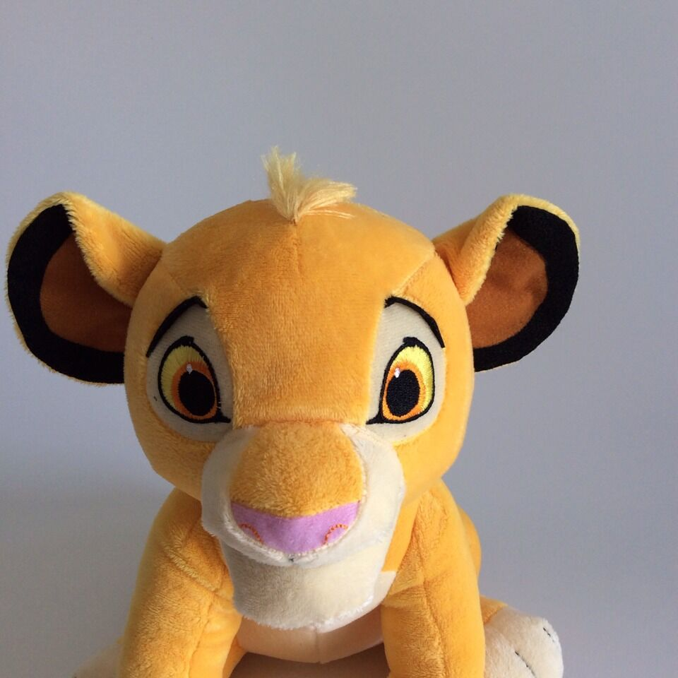 26cm Disney Simba Quality Cute Sitting High The Lion King Plush Toys Soft Stuffed Animals doll Educational Toy For Children