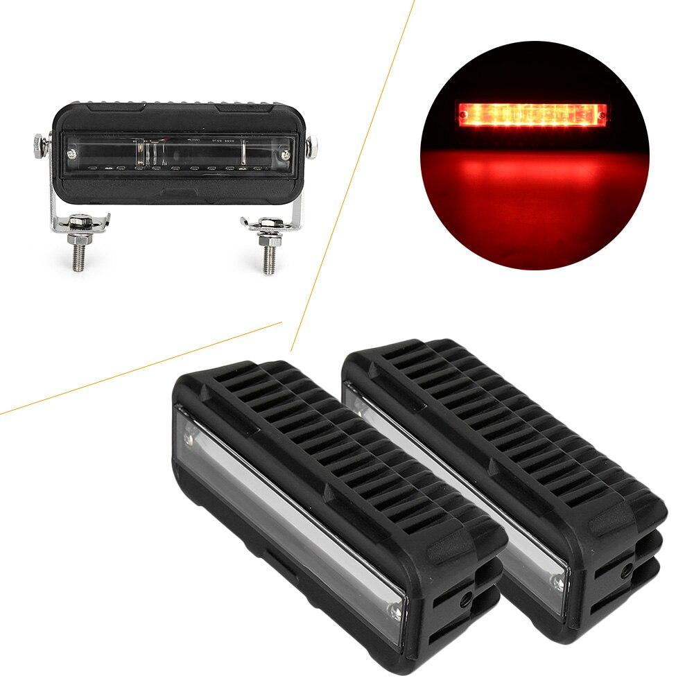 LED rouge/bleu chariot élévateur sécurité lumière Zone entrepôt piéton avertissement nouvelle voiture pièce accessoires 2 pièces